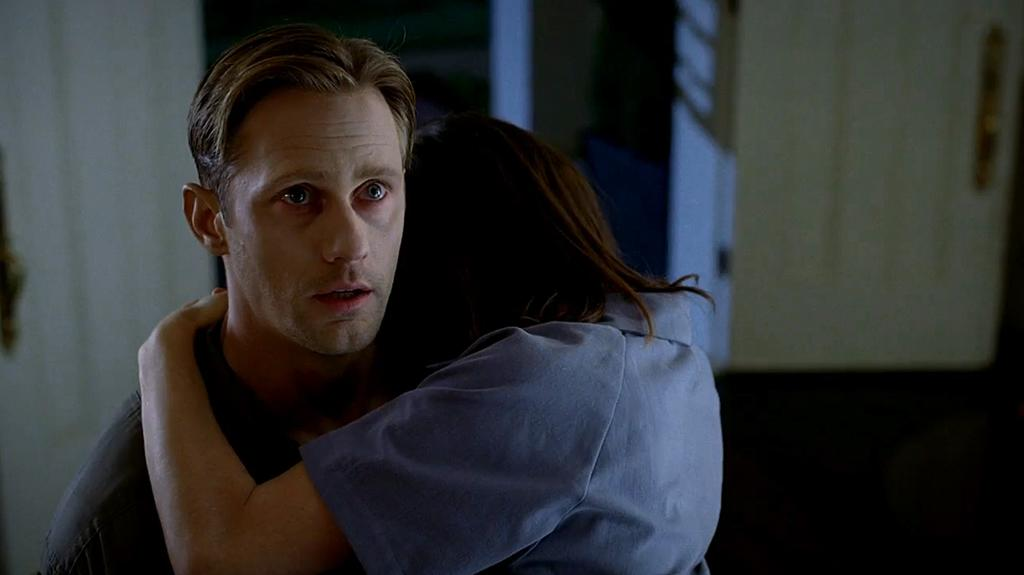 "Alexander Skarsgard in the ""True Blood"" Season 6 episode, ""In the Evening."""