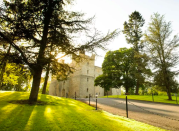 """<p>One of the last remaining British castle hotels that still has its original fortifications, <a href=""""https://go.redirectingat.com?id=127X1599956&url=https%3A%2F%2Fwww.booking.com%2Fhotel%2Fgb%2Flangley-castle.en-gb.html%3Faid%3D2070929%26label%3Dcastle-hotels&sref=https%3A%2F%2Fwww.redonline.co.uk%2Ftravel%2Finspiration%2Fg34992074%2Fcastle-hotels%2F"""" rel=""""nofollow noopener"""" target=""""_blank"""" data-ylk=""""slk:Langley Castle Hotel"""" class=""""link rapid-noclick-resp"""">Langley Castle Hotel</a> welcomes guests inside its seven-foot thick walls (with window seats carved out in many rooms) for a stay they'll never forget.</p><p>From the wrought-iron candelabras to the suits of armour dotted around the property, the medieval atmosphere can still be felt, with oversized, wooden four-poster beds adding extra grandeur to proceedings. <br></p><p><a class=""""link rapid-noclick-resp"""" href=""""https://go.redirectingat.com?id=127X1599956&url=https%3A%2F%2Fwww.booking.com%2Fhotel%2Fgb%2Flangley-castle.en-gb.html%3Faid%3D2070929%26label%3Dcastle-hotels&sref=https%3A%2F%2Fwww.redonline.co.uk%2Ftravel%2Finspiration%2Fg34992074%2Fcastle-hotels%2F"""" rel=""""nofollow noopener"""" target=""""_blank"""" data-ylk=""""slk:CHECK AVAILABILITY"""">CHECK AVAILABILITY </a></p>"""