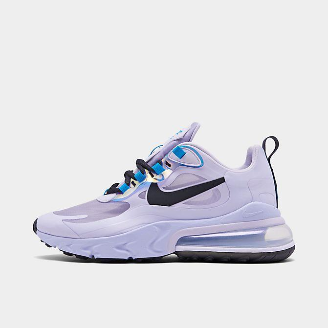 Women's Nike Air Max 270 React (Amethyest Tint/Off Noir)