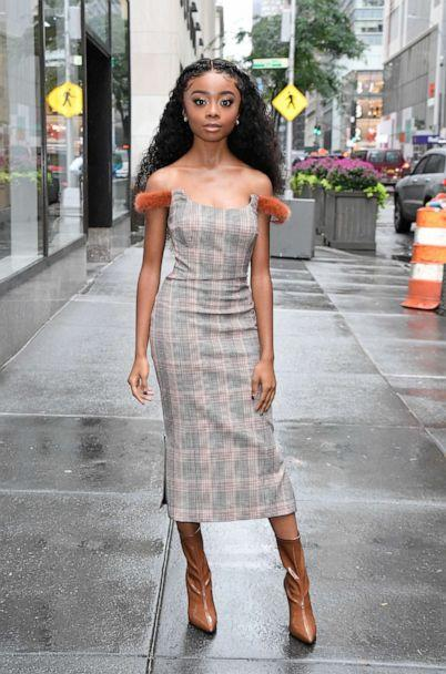 PHOTO: Actress Skai Jackson is seen on Oct. 3, 2019, in New York City. (Raymond Hall/GC Images/Getty Images)