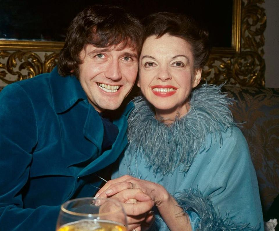 Mickey Deans and Judy Garland | Central Press/Getty