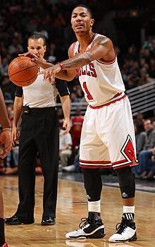 Derrick Rose has led the Bulls to the third-best record in the East