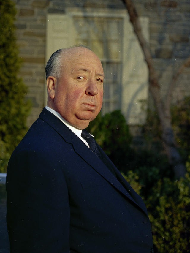 Alfred Hitchcock en 1968. (AP Photo)