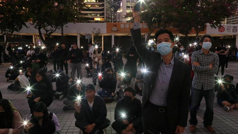 Hong Kong protests continue unabated with the New Year