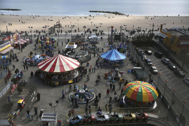 NYC's Coney Island hopes for rebound after Sandy