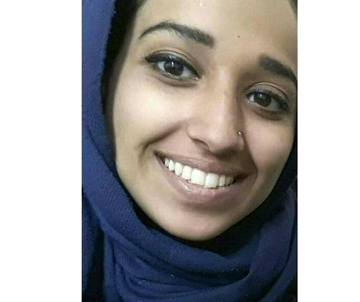 An undated photograph from attorney Hassan Shibly shows Hoda Muthana, an Alabama woman who joined the Islamic State group in Syria