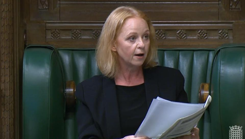 Temporary deputy speaker Judith Cummins asks Labour MP Dawn Butler to leave the House of Commons for the remainder of the day after refusing to withdraw claims that Prime Minister Boris Johnson has �lied to the House and the country over and over again�. Picture date: Thursday July 22, 2021.