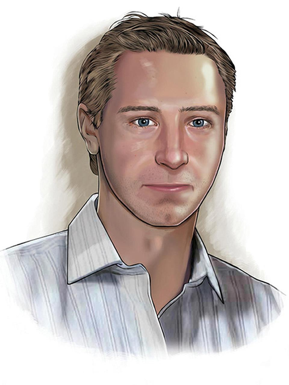 A digital portrait of how Ben may have looked in 2012