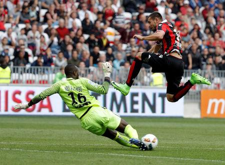 Football Soccer - Nice v Nancy - French Ligue 1 - Allianz Riviera Stadium