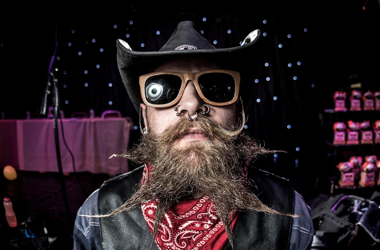 <p>The Wessex Beardsmen are an independent facial hair club founded in 2013. (SWNS) </p>
