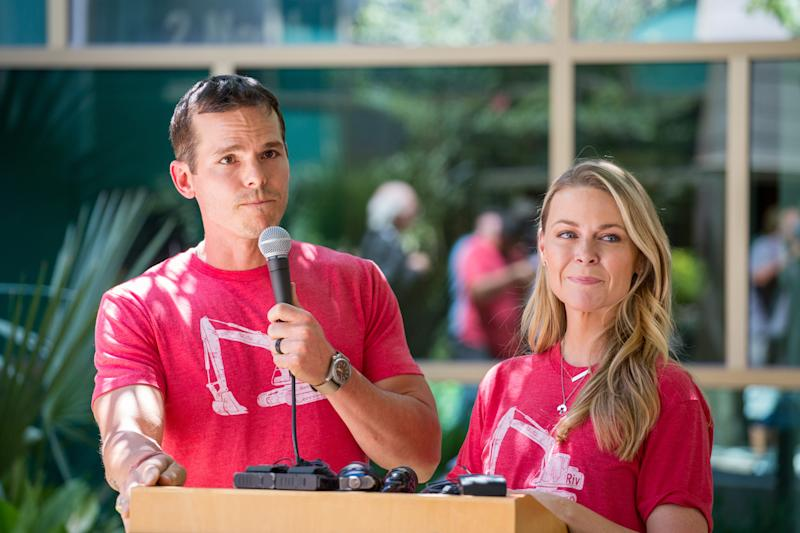 Granger and Amber Smith have worked to raise money for Austin's Dell Children's Medical Center in memory of their son, River Kelly Smith, who drowned in June.