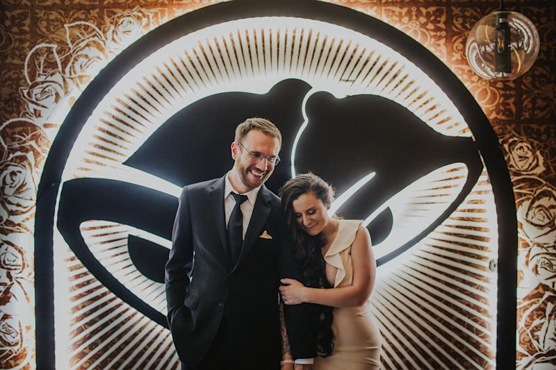 Couple Gets Married at Taco Bell Las Vegas Cantina