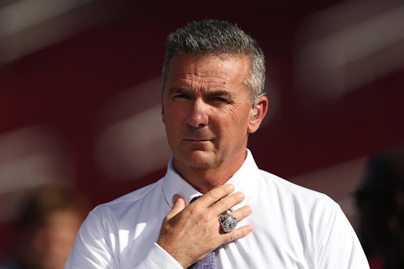If the Dallas Cowboys called Urban Meyer, he wouldn't ignore the phone. (Photo by Meg Oliphant/Getty Images)