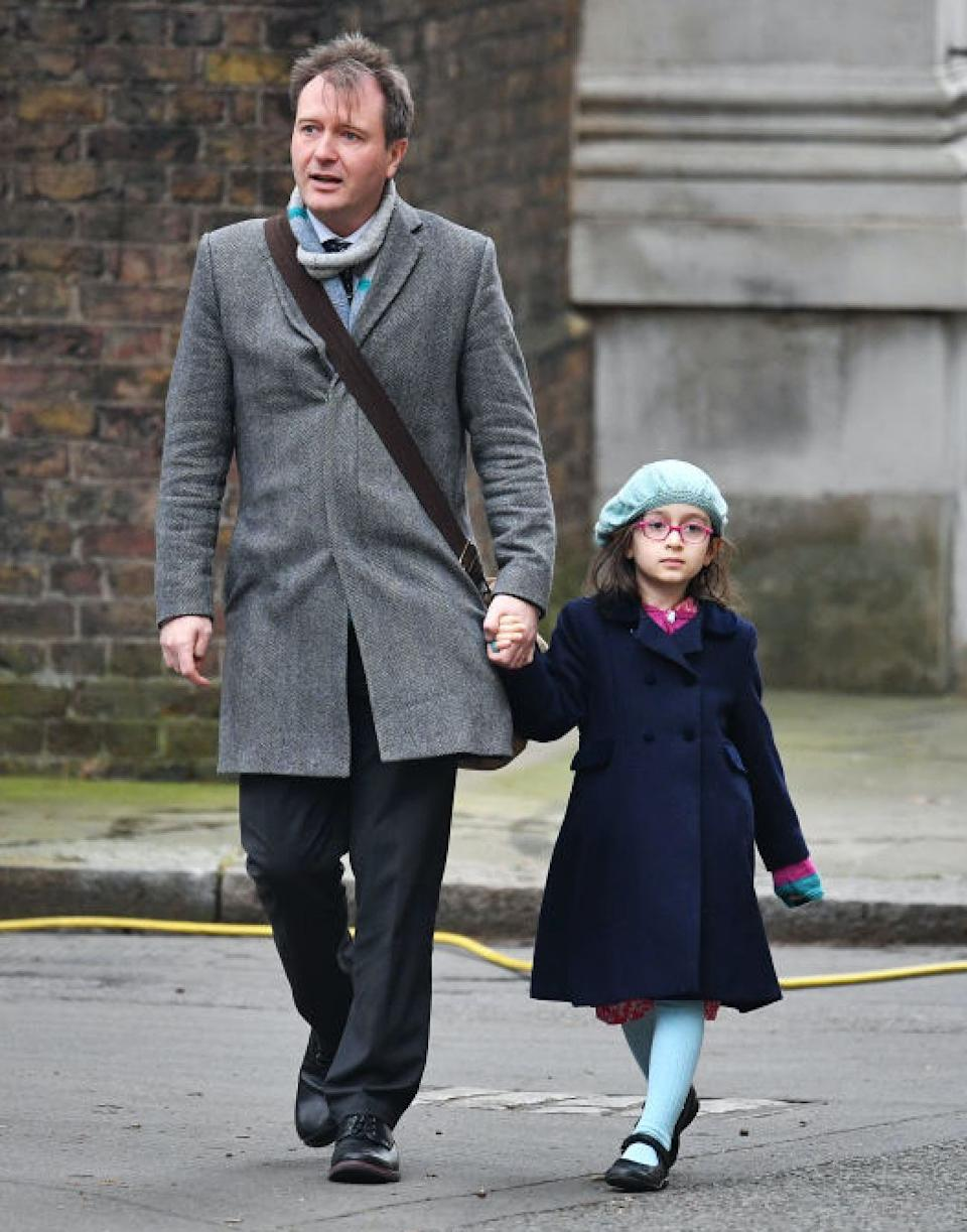 Richard is unsure of how to prepare daughter Gabriella, now six, for what may or may not happen on Sunday  (Photo: Getty)
