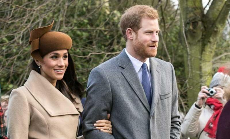 The Duke and Duchess of Sussex at Christmas