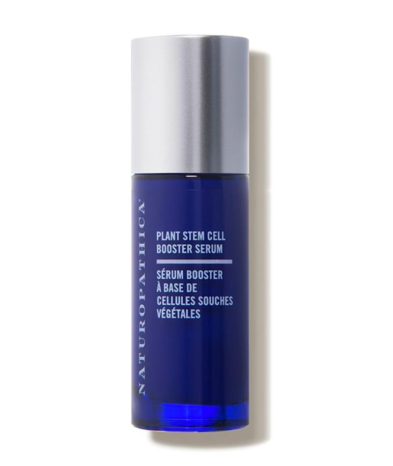 """A great all-arounder is the Naturopathica Plant Stem Cell Booster Serum &mdash; it has a powerful boost of restorative ingredients to help strengthen and plump the skin. I like to press serums into the skin to help it absorb deeper."" <strong>&mdash; Serron at HeyDay.</strong> Find it for $88 at <a href=""https://fave.co/3erg6gL"" target=""_blank"" rel=""noopener noreferrer"">Dermstore</a>."