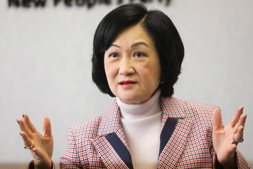 Lawmaker Regina Ip, chairwoman of the New People's Party. Photo: K. Y. Cheng
