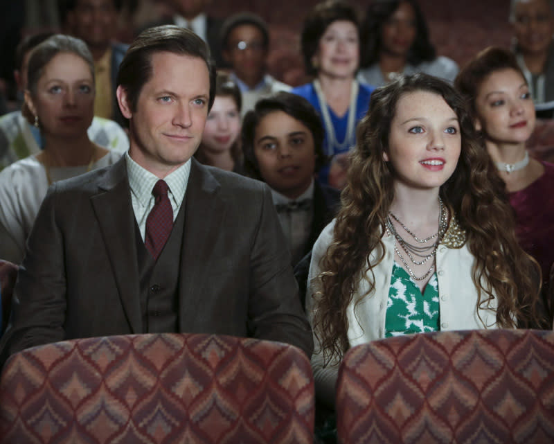 """Caught"" -- Matt Letscher as Tom and Stefania Owen as Dorrit"