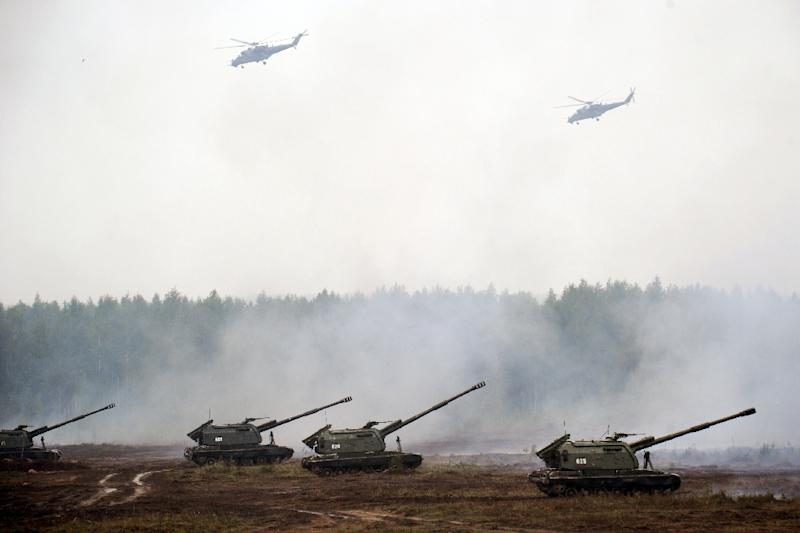 Russian Federation  starts biggest war games since USSR