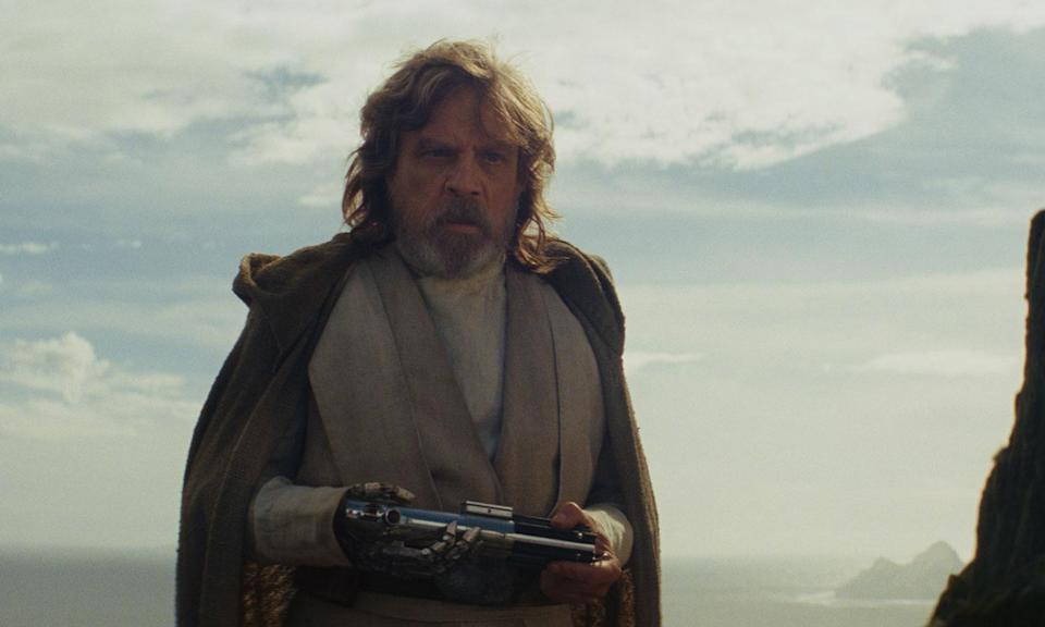 Luke is one of the more surprising characters in <i>The Last Jedi</i> (Disney)
