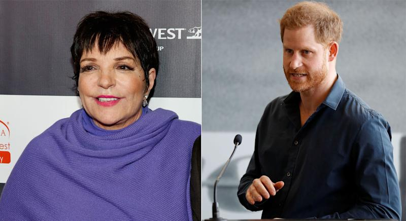 Liza Minnelli denied she is helping the prince settle into LA. (Getty Images)