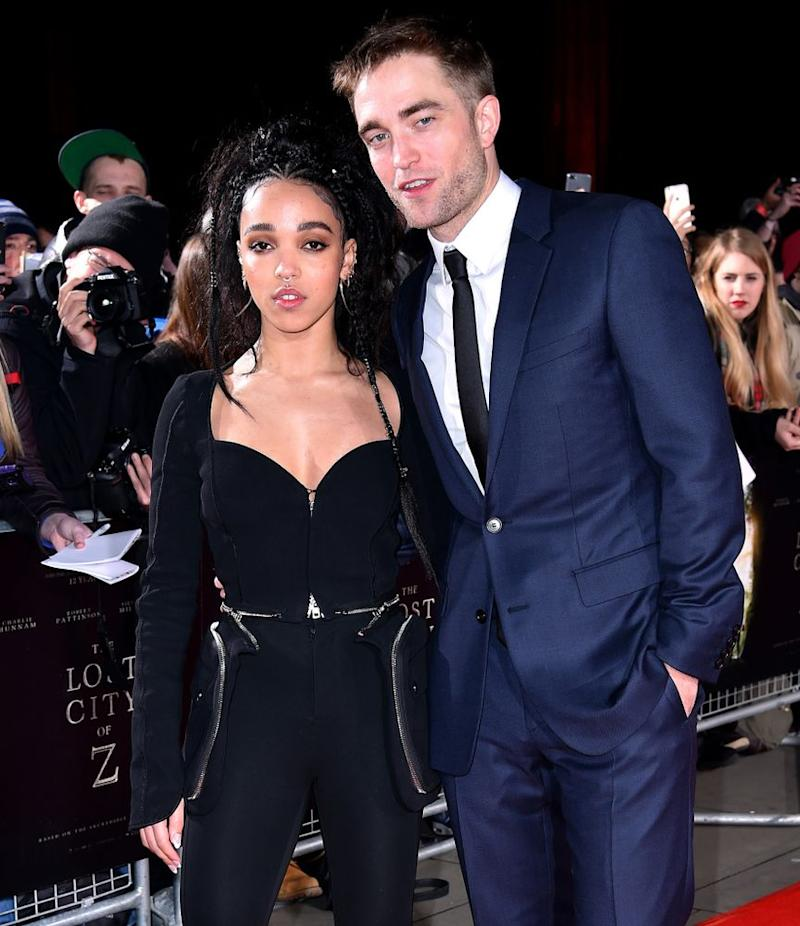 FKA Twigs. Robert Pattinson | PA Images/Sipa USA