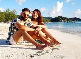 Virat Kohli and Anushka Sharma raise the cuteness quotient in the latest picture