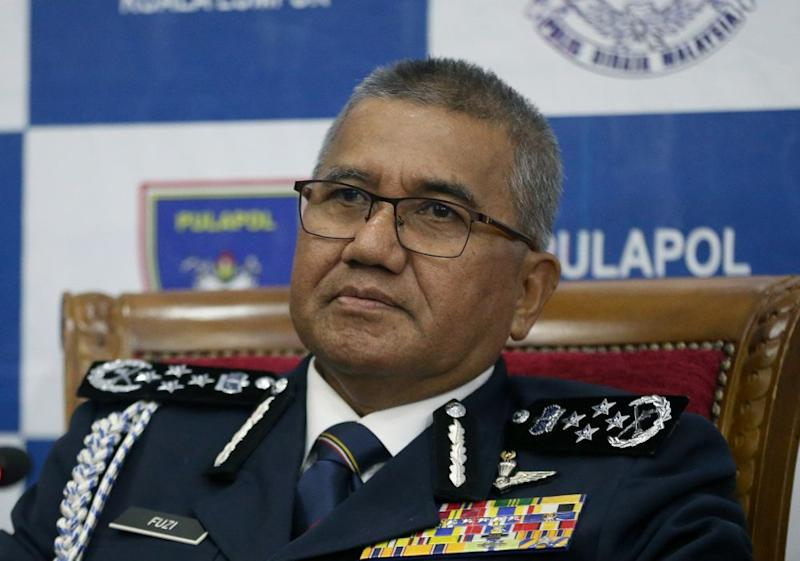 The IGP has assured public order will be maintained today. ― Picture by Razak Ghazali