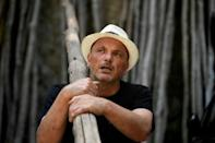 Salvatore Aceto, 56, says the terraces of the Amalfi coast used to provide a livelihood for entire families until the 1960s and 1970s, but now most of the economy relies on tourism