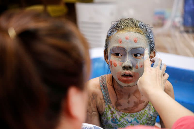 Get dirty at home: COVID-19 moves S.Korea's mud festival online