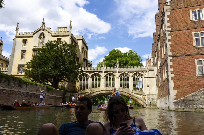 Cambridge is a tourist hot spot in the UK. Credit: Getty.