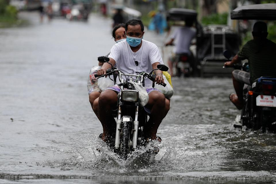 <p>Philippines Asia Typhoon</p> (Copyright 2020 The Associated Press. All rights reserved.)