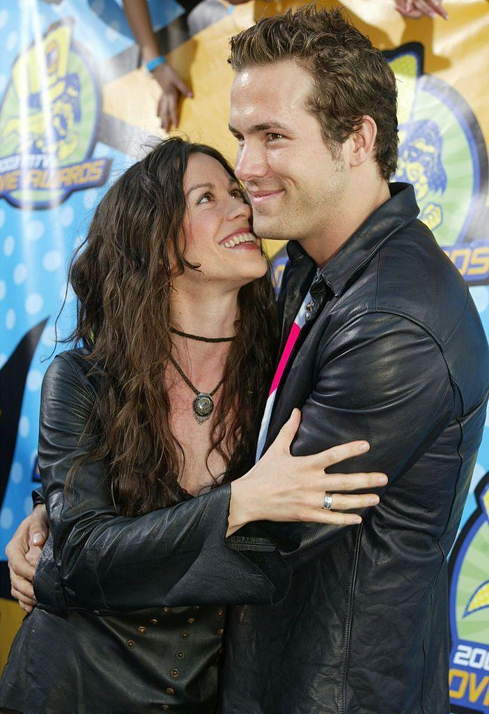 """<p>After meeting in 2002, the pair got engaged in 2004 - but called things off without marrying by 2007. Alanis later opened up to <a href=""""https://www.latimes.com/entertainment/la-et-morissette10-2008jun10-story.html"""" rel=""""nofollow noopener"""" target=""""_blank"""" data-ylk=""""slk:L.A. Times"""" class=""""link rapid-noclick-resp"""">L.A. Times</a> about what happened in 2008, explaining, """"I think it's the straw that breaks the camel's back. I was a full-blown love addict, so it was like, 'I can't keep doing this, my body can't take it.' For someone who is a love addict, [breakups are] debilitating.""""<br></p>"""