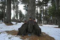 Control of Kashmir is divided between India and Pakistan, with both claiming the territory in full