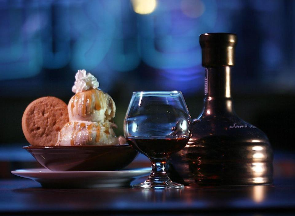 """The """"Utopias"""" ice cream dessert from Sunset Grill And Tap in Allston, Massachusetts. (Photo credit Dina Rudick/The Boston Globe via Getty Images)"""