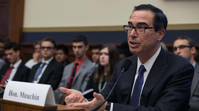 """Treasury Secretary Steven Mnuchin has defended asking to use a government plane for his honeymoon travel this summer, claiming his request was """"purely a national security issue."""""""