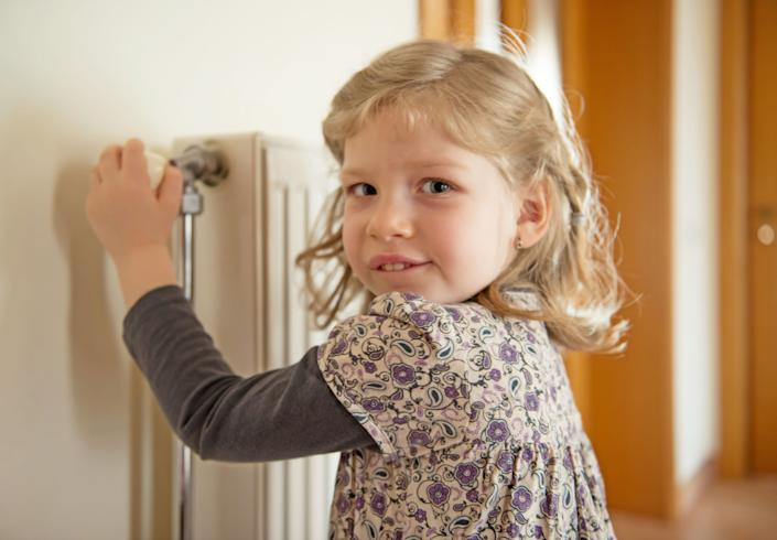 Remove crayon from radiators by rubbing with a paper towel soaked in Milk from the fridge! A little baby oil will also prevent your soap sticking to the soap dish.