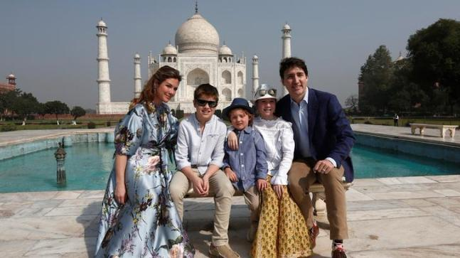 Canadian Prime Minister Justin Trudeau got a cold shoulder instead of a warm welcome as he began his week-long trip to India on Monday by taking a tour of the Taj Mahal and a visit to an elephant rescue sanctuary near Agra.