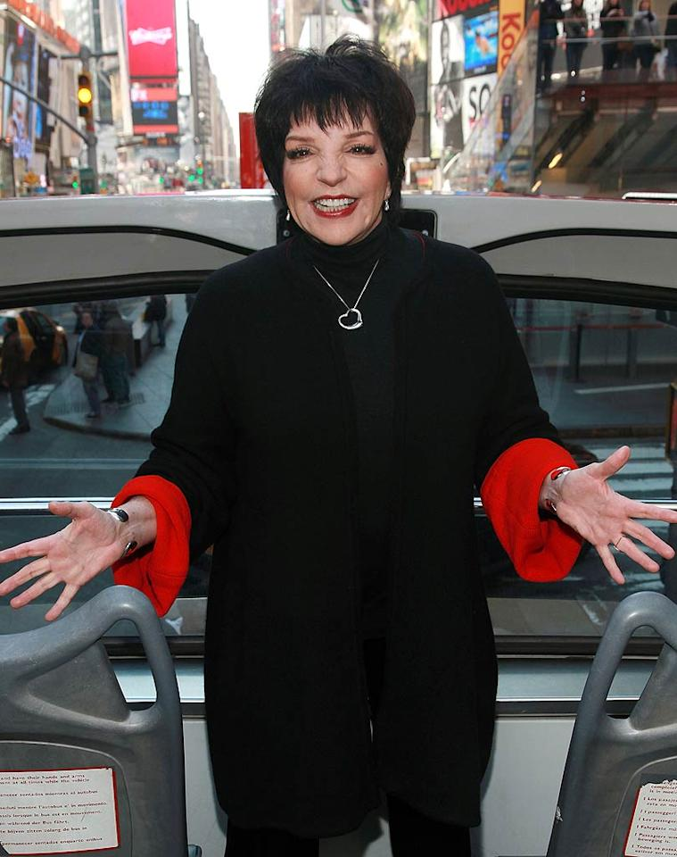 """March 12: Liza Minnelli turns 65 Astrid Stawiarz/<a href=""""http://www.gettyimages.com/"""" target=""""new"""">GettyImages.com</a> - March 8, 2011"""