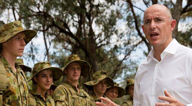Gold Coast MP and Assistant Defence Minister Stuart Robert. Photo: Facebook