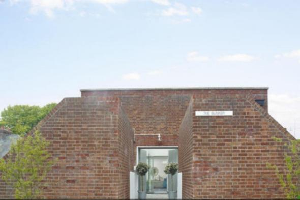 Former WWII bunker transformed into contemporary property