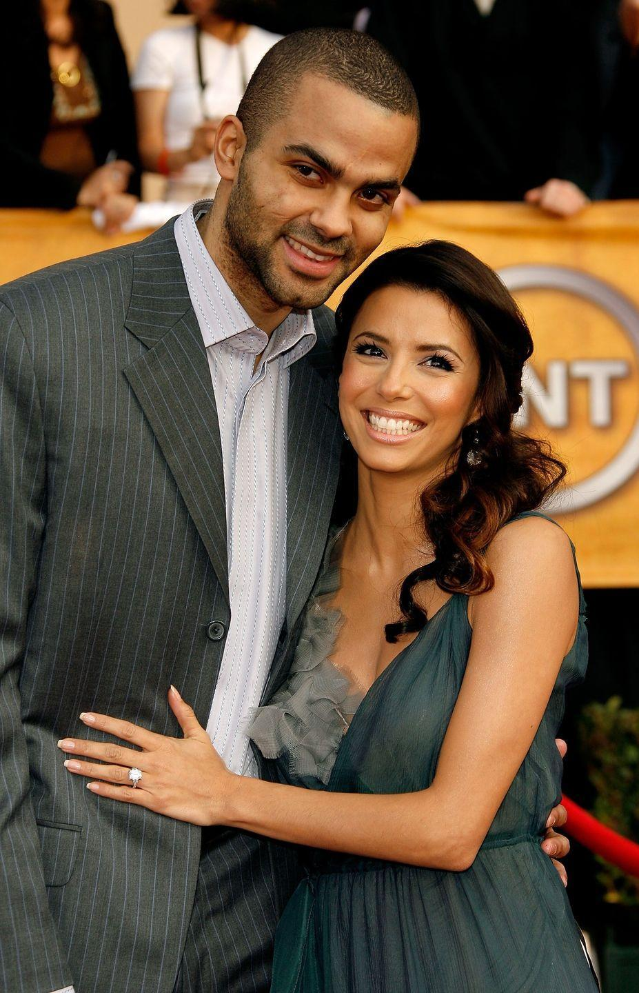 """<p><a href=""""http://people.com/celebrity/eva-longoria-and-tony-parker-marry-in-a-french-church/"""" rel=""""nofollow noopener"""" target=""""_blank"""" data-ylk=""""slk:Eva Longoria and Tony Parker"""" class=""""link rapid-noclick-resp"""">Eva Longoria and Tony Parker</a> got married at the Church of Saint Germain L'Auxerrois in Paris in July 2007. Longoria wore a couture Angel Sanchez mermaid gown, and guests included Jessica Alba and <em>Desperate Housewives </em>co-stars. Parker and Longoria separated in 2011. </p>"""