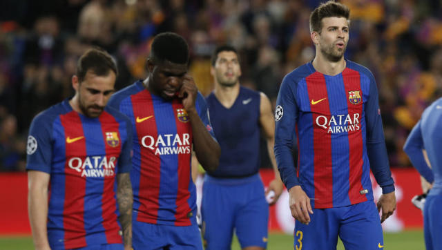 <p>On paper, the Barcelona starting XI on Wednesday looked just as strong as those that have previously won honours at the club. </p> <br><p>Yes there was the raw talent of Samuel Umtiti and Sergio Roberto, but there remains a core group of players that have so often come up trumps for the Blaugrana. </p> <br><p>And yet despite being close to full-strength, Barcelona looked a shadow of the side we think of from seasons gone-by. The uncertainty over the manager's role won't be helping matters, but it may be time for some of this team's wonderful stars to take a back seat. </p> <br><p>Fresh ideas, not to mention players, are badly needed at the Camp Nou. The comeback against PSG masked the frailties in this Barca side and though many were not fooled by last month's heroics, we have all been reminded once again that it is well and truly the end of an era at Catalunya's most famous football club. </p>