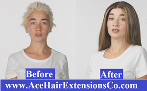 New range of hair extensions for short hair has been launched by the company Ace Hair Extensions & Co.