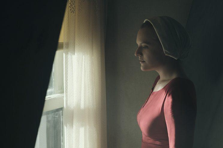 Elisabeth Moss as Offred in 'The Handmaid's Tale' (Photo by: George Kraychyk/Hulu)