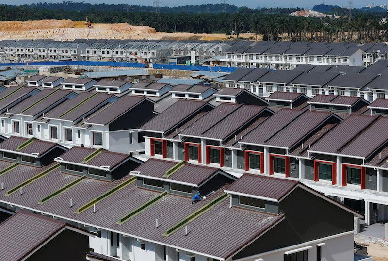 Khazanah Research Institute said in its latest report on housing that little has improved to make housing affordable between 2002 and 2016. — Reuters pic