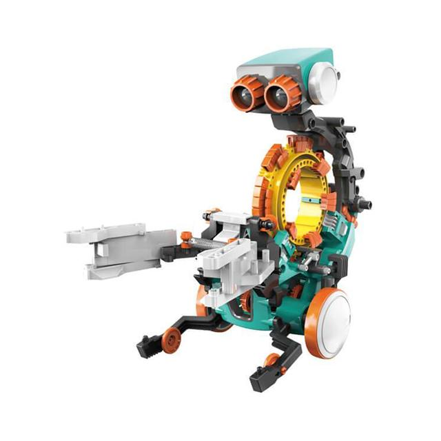 5-in-1 Mechanical Coding Robot. Image via Mastermind Toys.