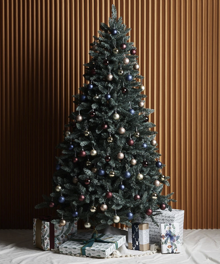 The Facebook user revealed she'd returned the Big W tree and had opted for a Target tree, which was $119. Photo: Target