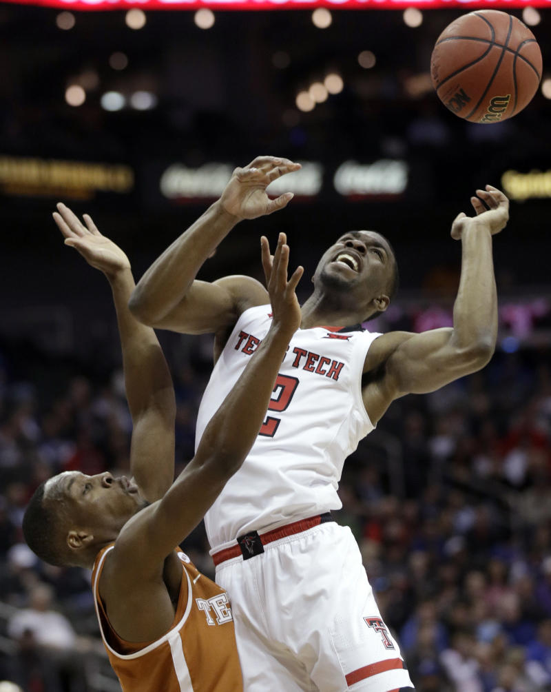 Evans leads Texas Tech to 73-69 win over Texas in Big 12s