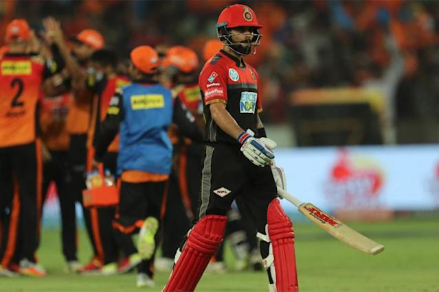 Virat Kohli has expressed his disappointment as Royal Challengers Bangalore failed to make it through to the knock-out stage of the ongoing edition of the Indian Premier League (IPL).